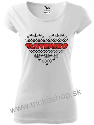 681a321221c5e Slovenské tričko s Čičmianskym vzorom
