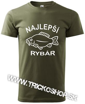 9979f928c3ad Pánske tričko Najlepší rybár