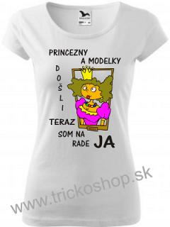 d29368a8a Dámske tričko Princezny empty