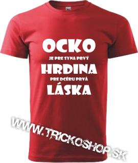 734a2d412f19 Pánske tričko Ocko hrdina empty