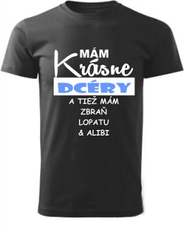 4ab58ac5c Pánske tričko Mám krásne dcéry empty
