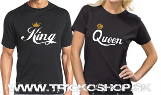 Duo čierne King Queen1