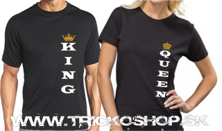 Duo čierne King Queen2