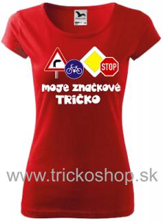 2aa4c873e10f Dámske tričko Značkové empty