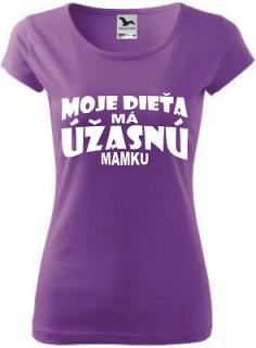 aeb59268cb1a Dámske tričko Úžasná mamka empty